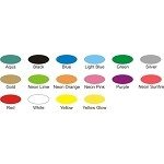 "TYVEK  Wristbands 1"" solid color *15 available colors 500 per box"