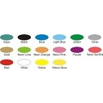 "Tyvek Wristbands 3/4"" solid color * 15 available colors 500 per box"