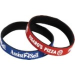 "Wristbands, Neoprene 1/2"", Printing included in price, MINIMUM ORDER = 100 Quantity"