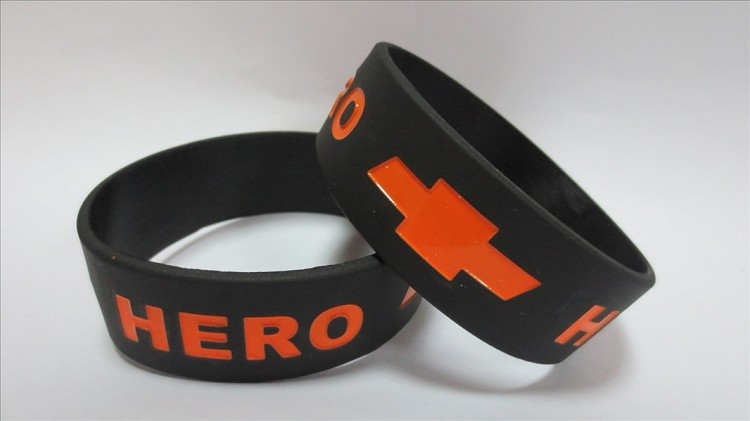 One Inch Silicone Wristbands