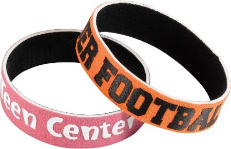 "3/4"" Neoprene Wristbands"